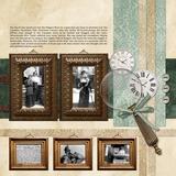 Vintage Memories Frames 1