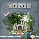Faithfull Series - Peace - Page Kit