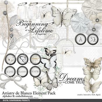 Artistry De Blanco Element Pack