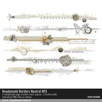 Readymade Border Strips Neutrals No. 03