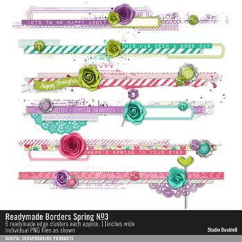 Readymade Borders Spring No. 03