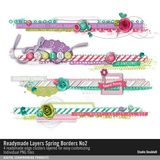 Readymade Layers Spring Borders No. 02