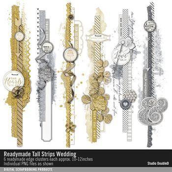 Readymade Tall Strips Wedding