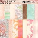 Family Is Forever Paper Pak