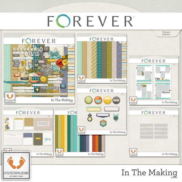 In The Making Bundle Digital Art - Digital Scrapbooking Kits