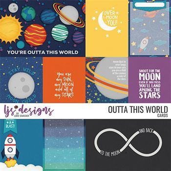 Outta This World - Cards