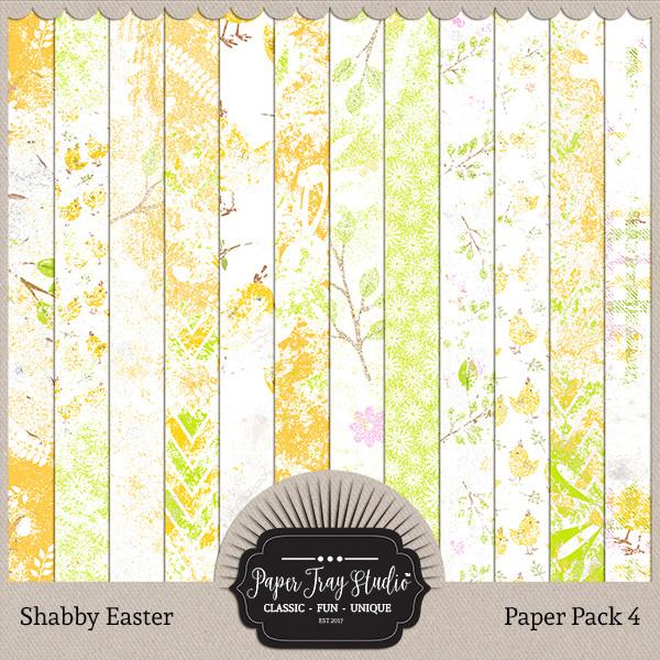 Shabby Easter - Set 4
