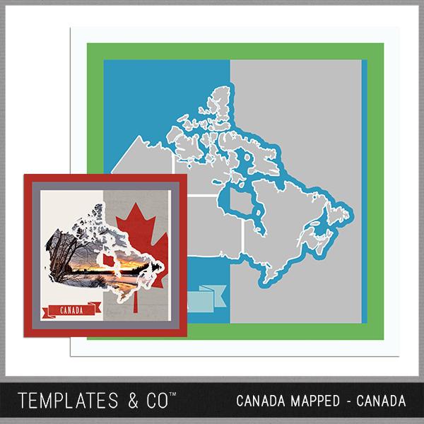 Canada Mapped - Canada