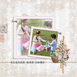 Easter Snapshot - Page Dividers