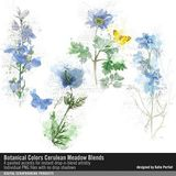 Botanical Colors Cerulean Meadow Blends