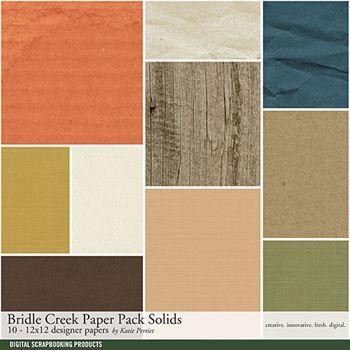 Bridle Creek Solids Paper Pack