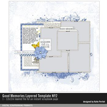 Good Memories Layered Template No. 02