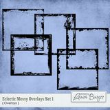 Eclectic Mess Overlays Set 1