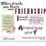 Honored To Be Friends Bundled Collection
