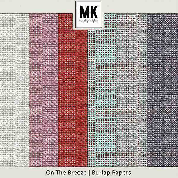 On The Breeze - Burlap Papers