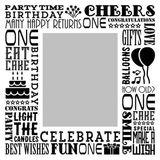 Birthday Milestones - Childhood Age 1