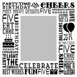 Birthday Milestones - Childhood Age 5