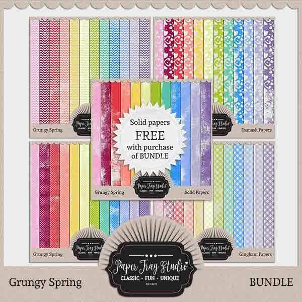 Grungy Spring - Bundle