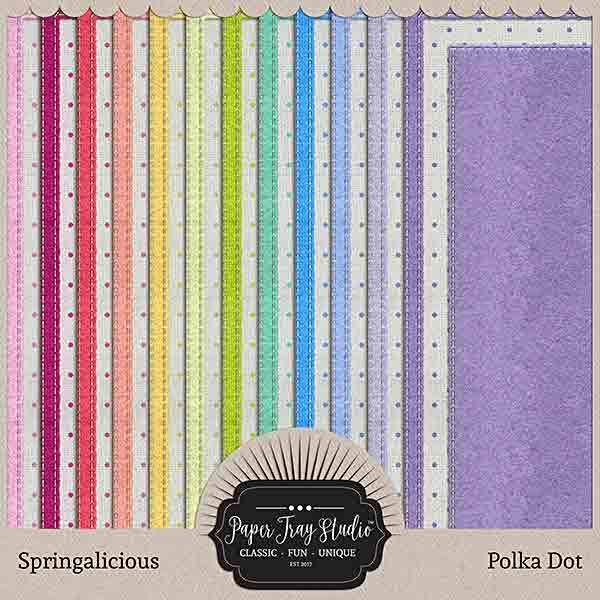 Springalicious - Set 4 Digital Art - Digital Scrapbooking Kits