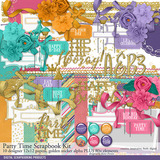 Party Time Birthday Scrapbook Kit