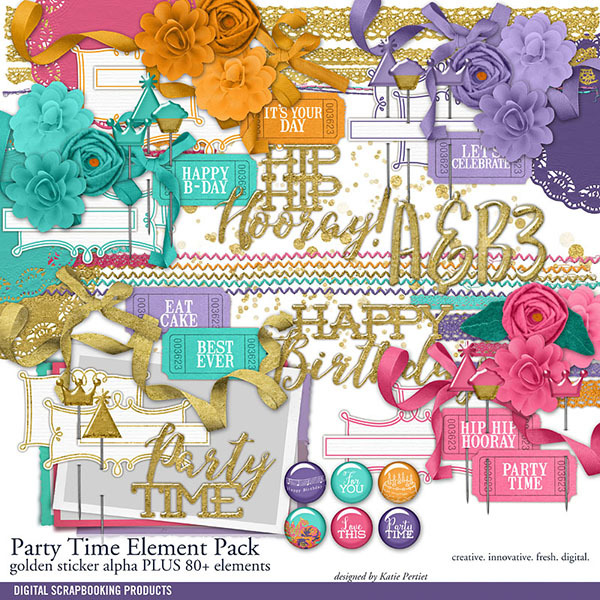 Party Time Element Pack