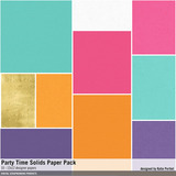 Party Time Solids Paper Pack