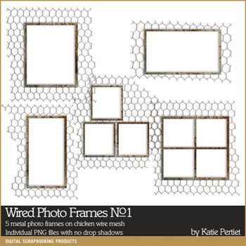 Wired Photo Frames No. 01