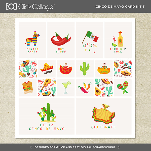 Cinco De Mayo Card Kit 3