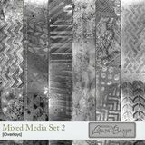 Mixed Media Overlays Set 2