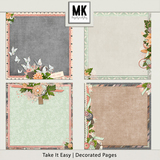 Take It Easy - Decorated Papers