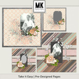 Take It Easy - Pre-designed Pages