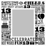 Birthday Milestones - Teenage 13