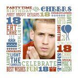 Birthday Milestones - Teenage 18