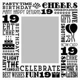 Birthday Milestones - Teenage 19