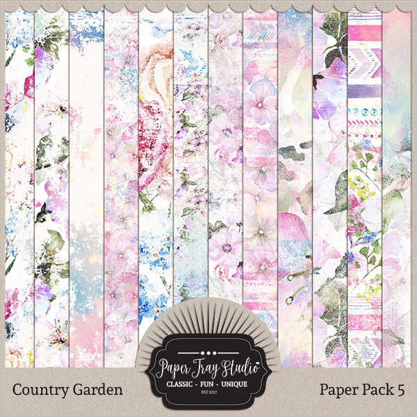 Country Garden II - Set 1