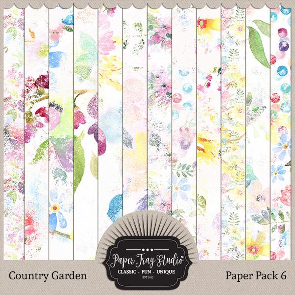 Country Garden II - Set 2