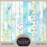 Country Garden II - Set 4