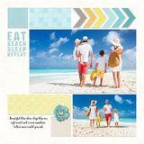 Beach Time Pre-designed & Editable Book
