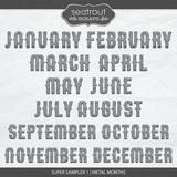 Super Sampler 1 - Metal Months