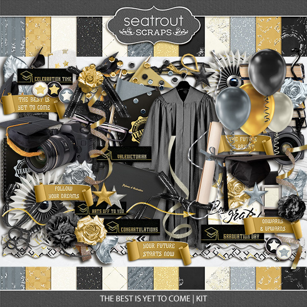 The Best Is Yet To Come - Kit Digital Art - Digital Scrapbooking Kits