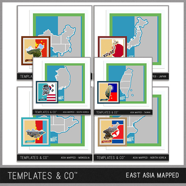 East Asia Mapped
