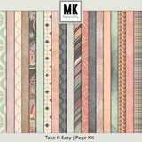 Take It Easy - Page Kit