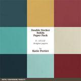 Double Decker Solids Paper Pack