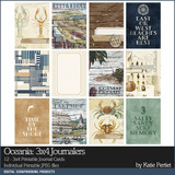 Oceania 3x4 Printable Journal Cards