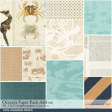 Oceania Add-on Paper Pack