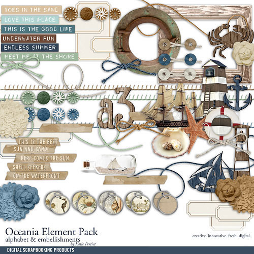 Oceania Element Pack