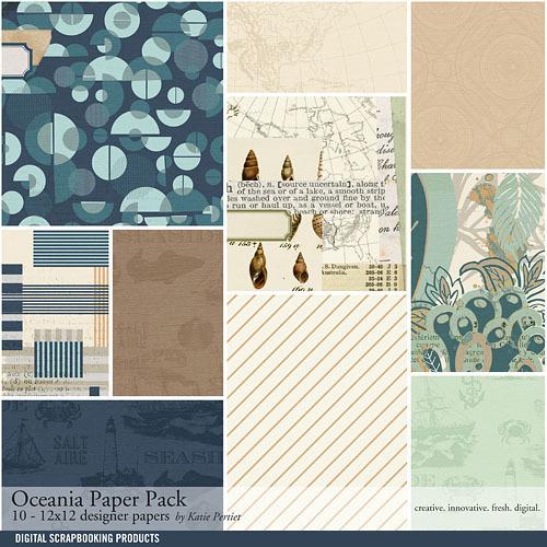 Oceania Paper Pack
