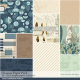Oceania Scrapbook Kit
