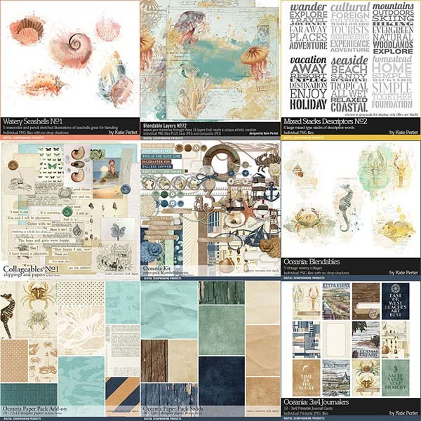 Oceania Scrapbooking Bundle