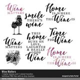 Wine Matters Brushes, Stamps And Transfers